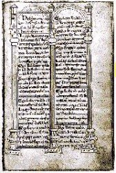 Page from Codex Eberhardi, from Ecomare CDrom de Vleet